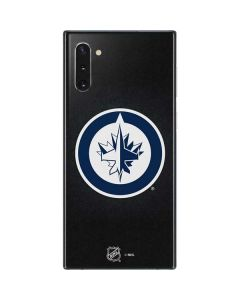 Winnipeg Jets Black Background Galaxy Note 10 Skin