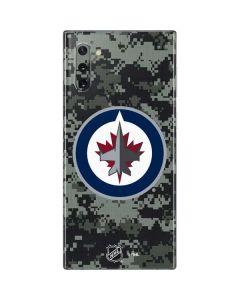 Winnipeg Jets Camo Galaxy Note 10 Skin