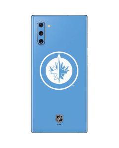 Winnipeg Jets Color Pop Galaxy Note 10 Skin