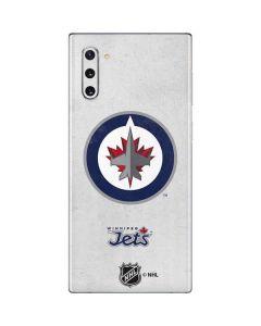 Winnipeg Jets Distressed Galaxy Note 10 Skin
