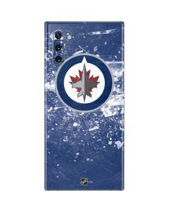 Winnipeg Jets Frozen Galaxy Note 10 Skin
