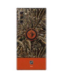 Winnipeg Jets Realtree Max-5 Camo Galaxy Note 10 Skin