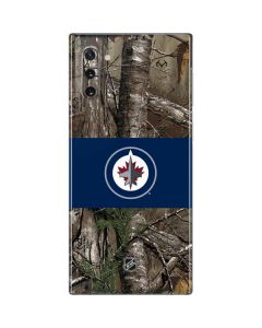 Winnipeg Jets Realtree Xtra Camo Galaxy Note 10 Skin