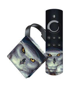 White Owl Amazon Fire TV Skin