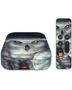 White Owl Apple TV Skin