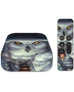 Wizards Messenger Owl Hedwig Apple TV Skin