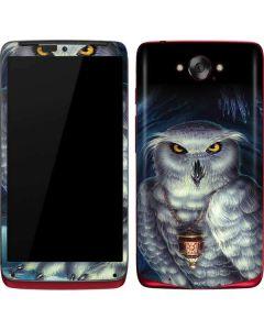 White Owl Motorola Droid Skin