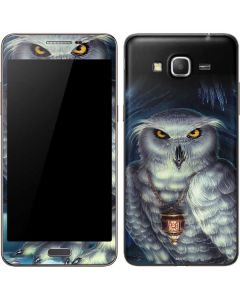 White Owl Galaxy Grand Prime Skin