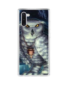 White Owl Galaxy Note 10 Clear Case