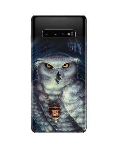 White Owl Galaxy S10 Plus Skin