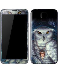 White Owl Galaxy S5 Skin