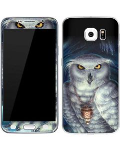 Wizards Messenger Owl Hedwig Galaxy S6 Skin