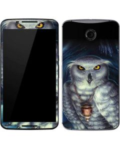 Wizards Messenger Owl Hedwig Google Nexus 6 Skin