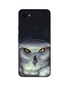 White Owl Google Pixel 3a Skin