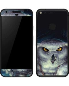 Wizards Messenger Owl Hedwig Google Pixel Skin
