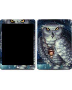 White Owl Apple iPad Skin