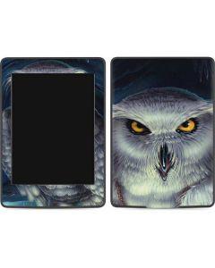 White Owl Amazon Kindle Skin