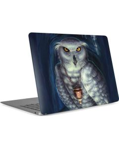 White Owl Apple MacBook Air Skin