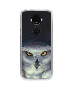 Wizards Messenger Owl Hedwig Moto E5 Plus Clear Case