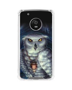 Wizards Messenger Owl Hedwig Moto G5 Plus Clear Case