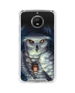 Wizards Messenger Owl Hedwig Moto G5S Plus Clear Case