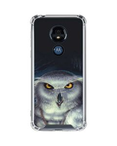 Wizards Messenger Owl Hedwig Moto G7 Power Clear Case
