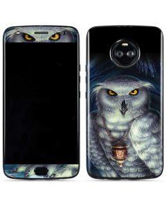 White Owl Moto X4 Skin