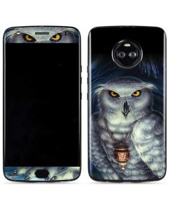 Wizards Messenger Owl Hedwig Moto X4 Skin