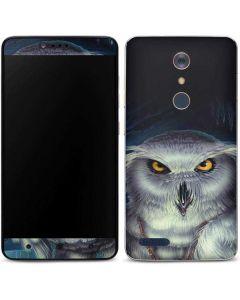 White Owl ZTE ZMAX Pro Skin