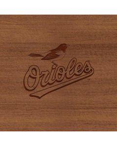 Baltimore Orioles Engraved Apple MacBook Pro 17-inch Skin