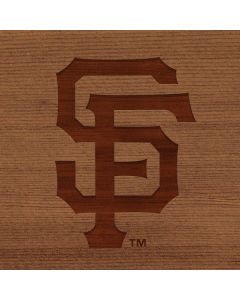San Francisco Giants Engraved Google Home Hub Skin
