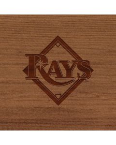 Tampa Bay Rays Engraved Apple MacBook Pro 17-inch Skin