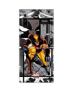 Wolverine Comic Strip Galaxy Note 10 Skin