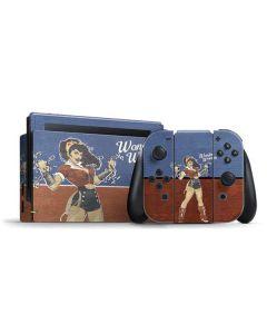 Wonder Woman Bombshell Nintendo Switch Bundle Skin