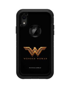 Wonder Woman Gold Logo Otterbox Defender iPhone Skin