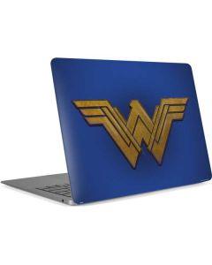 Wonder Woman Large Logo Apple MacBook Air Skin