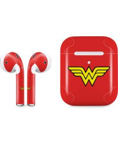 Wonder Woman Official Logo Apple AirPods 2 Skin