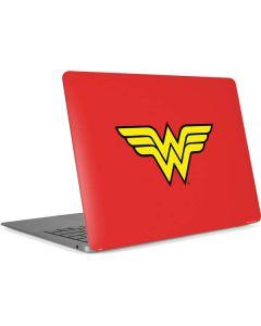 Wonder Woman Official Logo Apple MacBook Air Skin