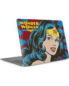Wonder Woman Vintage Profile Apple MacBook Air Skin