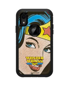 Wonder Woman Vintage Profile Otterbox Defender iPhone Skin