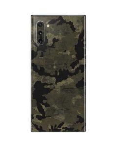 Wood Camo Galaxy Note 10 Skin