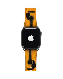 Wood Guitar Apple Watch Band 42-44mm