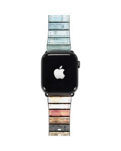 Wooden Stripes Apple Watch Case