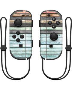 Wooden Stripes Nintendo Joy-Con (L/R) Controller Skin