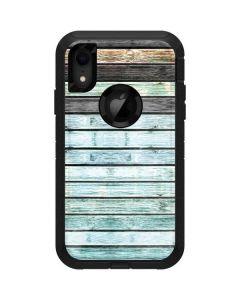 Wooden Stripes Otterbox Defender iPhone Skin