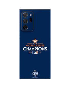 World Series Champions 2017 Houston Astros Galaxy Note20 Ultra 5G Skin
