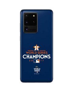 World Series Champions 2017 Houston Astros Galaxy S20 Ultra 5G Skin
