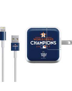 World Series Champions 2017 Houston Astros iPad Charger (10W USB) Skin