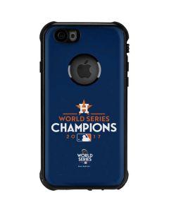 World Series Champions 2017 Houston Astros iPhone 6/6s Waterproof Case