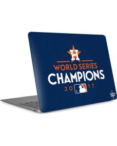 World Series Champions 2017 Houston Astros Apple MacBook Air Skin